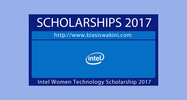 Intel Women In Technology Scholarship 2017