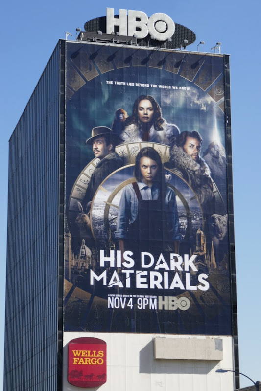 His Dark Materials HBO series billboard