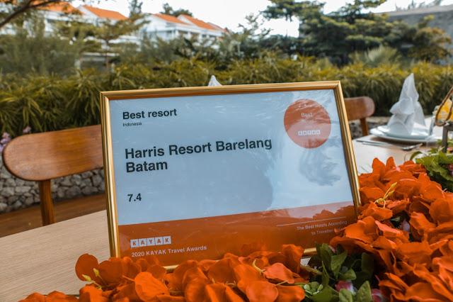 Keren nih HARRIS Resort Barelang Batam Meraih Penghargaan Resort Terbaik di Indonesia