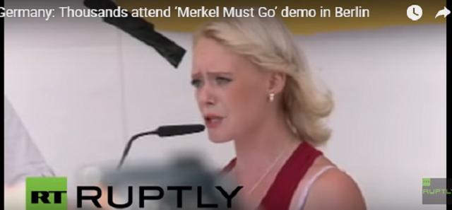 «Βράζει» η Γερμανία λόγω ισλαμιστών και προσφύγων: «Μέρκελ παραιτήσου» (vid)