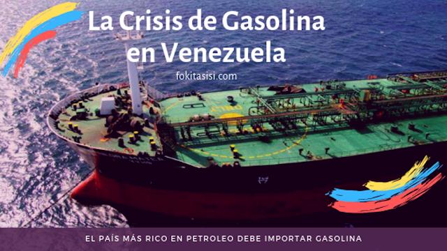 (Imagen) Lo más crítico de todo es que la líquidez para efectuar la importacion de gasolina es para corto plazo, a esto se suma que debido a la disminución en la capacidad operativa de las refinerias en Venezuela