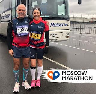 Atletismo Aranjuez Marathón Moscú