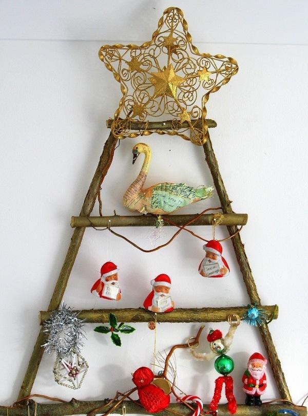 vitage christmas tree decorations