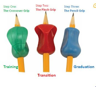 Proper pencil grip is important for many different reasons. An easy way to help them is with the pencil grip system from The Pencil Grip company!