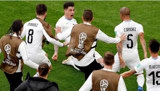 منتخب أوروجواي يخشى صحوة المنتخب السعودي في كأس العالم 2018