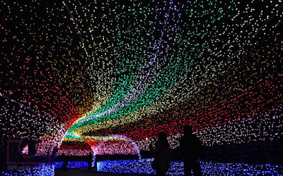 Indahnya Winter Light Festival Di Jepang