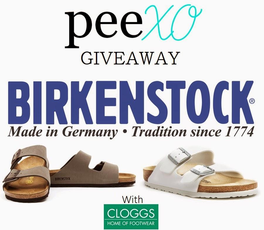 Birkenstock Giveaway