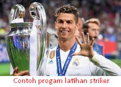 Program Latihan Untuk Striker Sepakbola