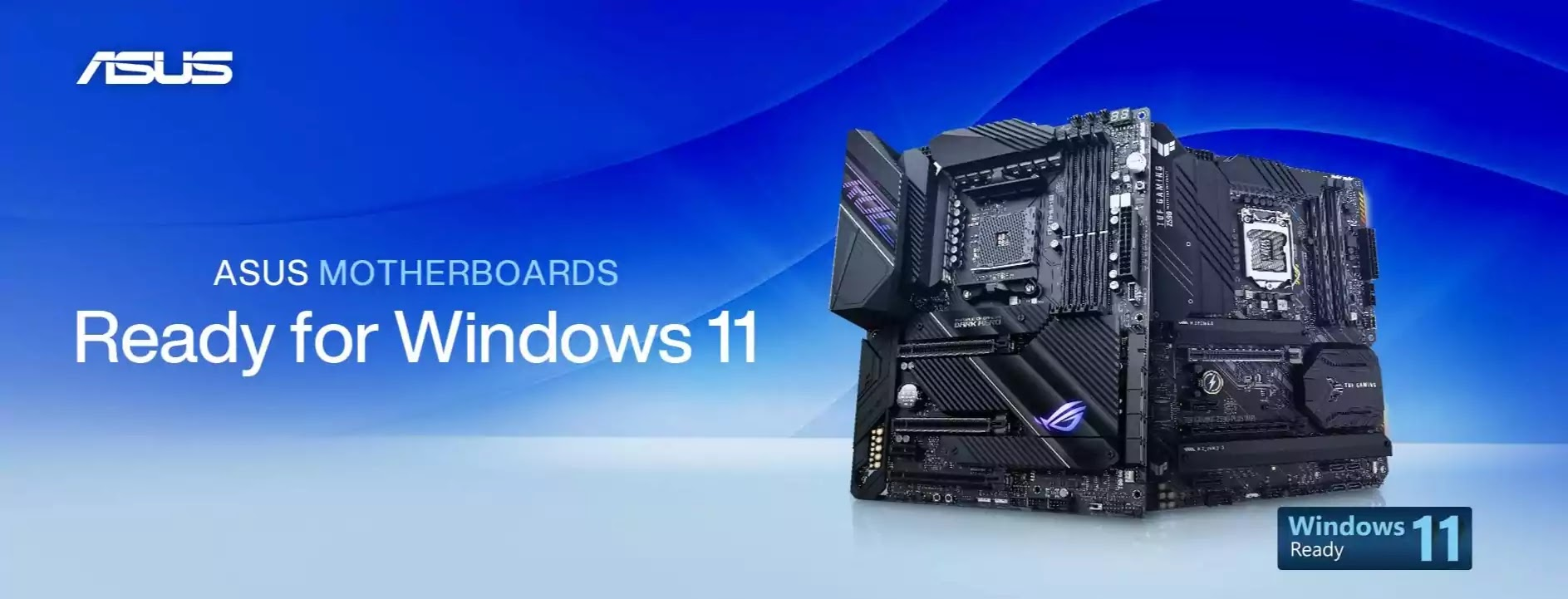 ASUS Motherboard Support for Windows 11