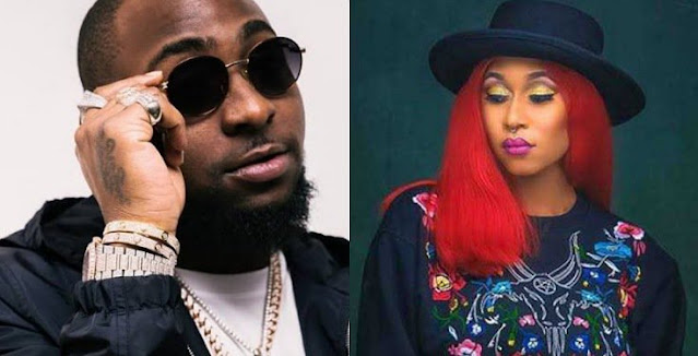 """""""Cynthia Morgan calls out Davido for ignoring her after asking her to call him"""""""