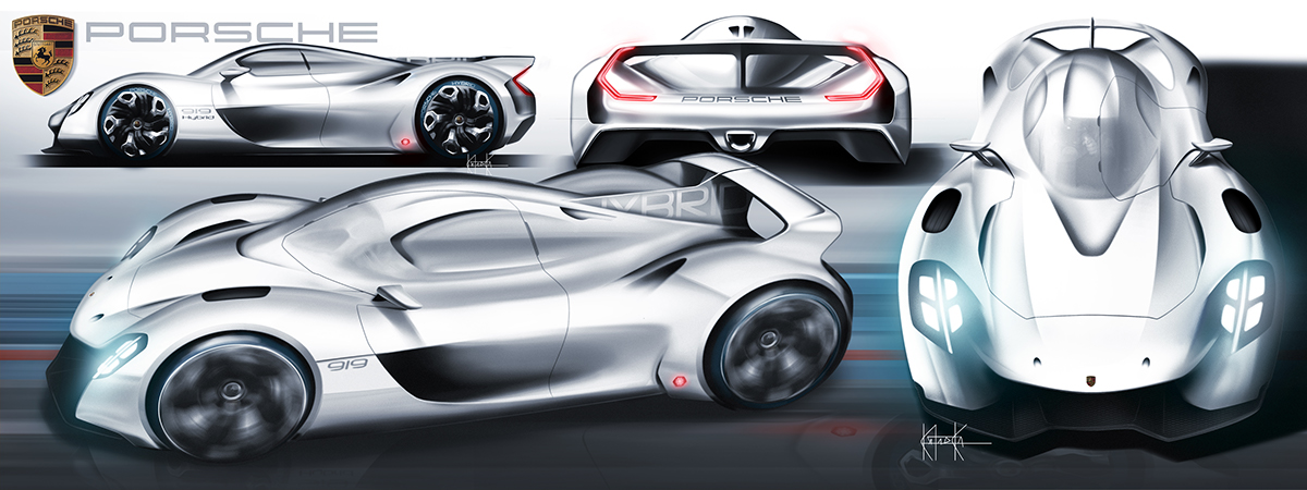 What If Porsche Made A 919 Hypercar For The Road? | Carscoops