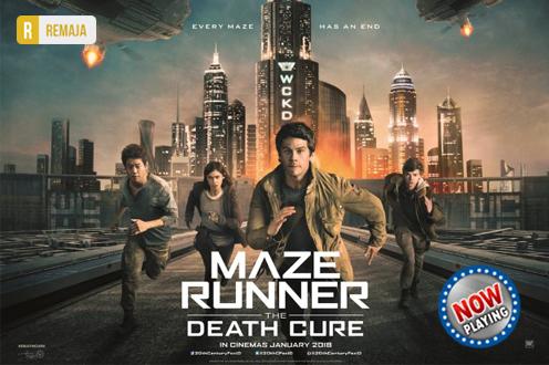 Film MAZE RUNNER: THE DEATH CURE di Bioskop