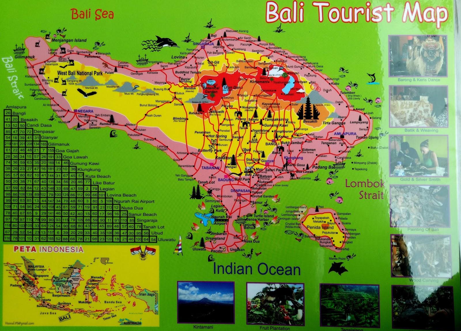 Australia Tourist Map Picture Ideas References