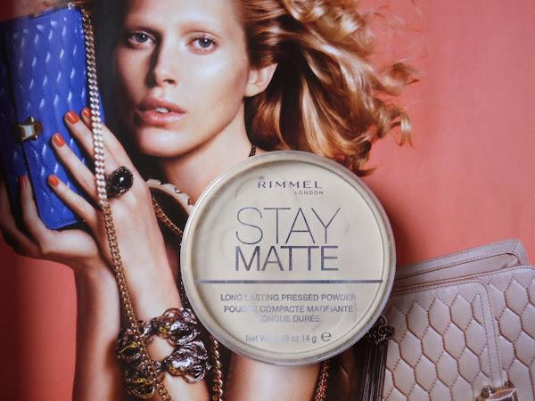 7 Days of Rimmel: Stay Matte Powder