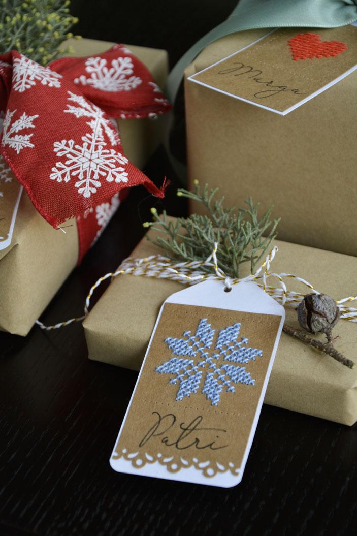 etiquetas de navidad