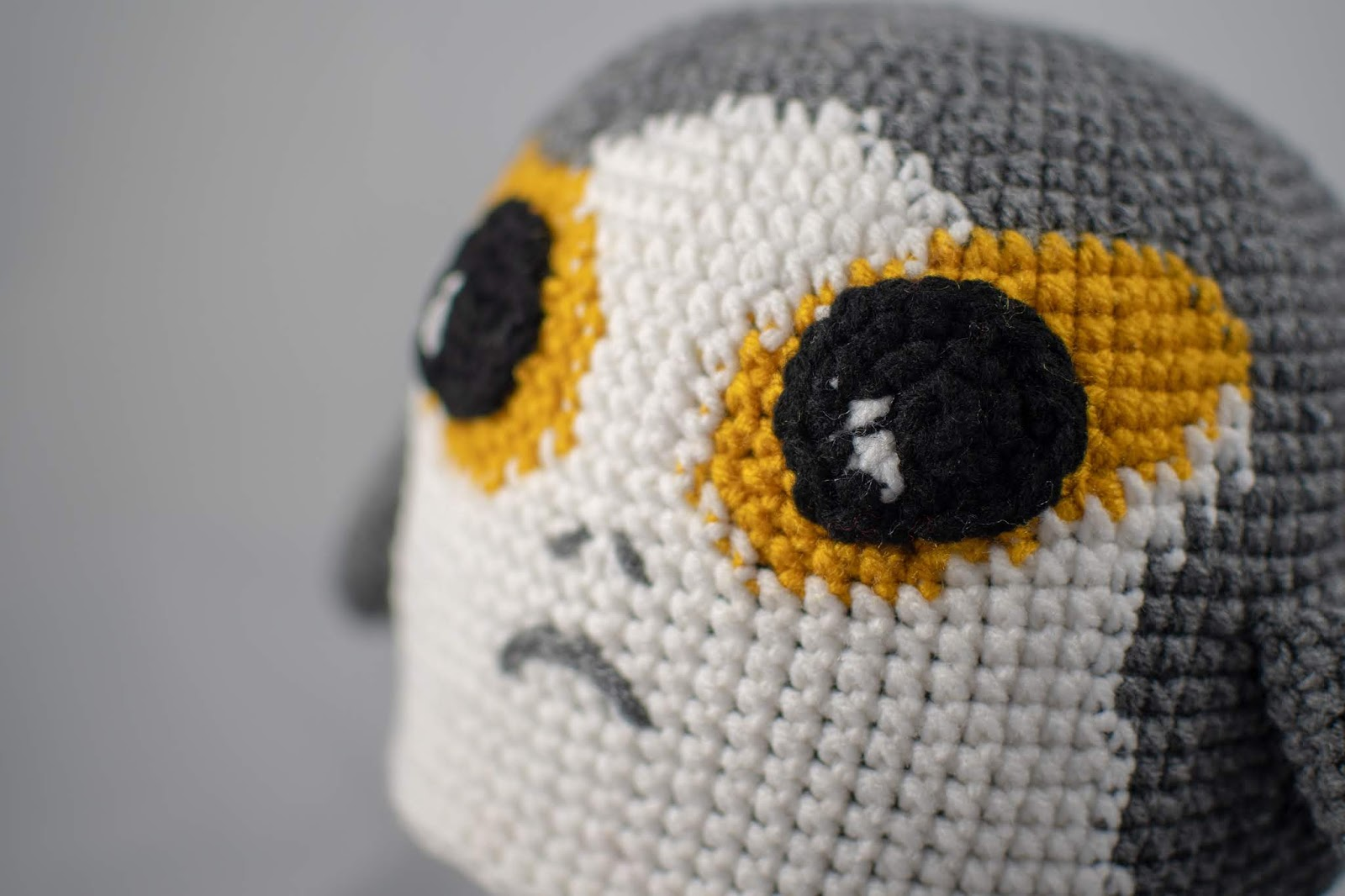 Easy step by step youtube tutorial. Star wars crochet. BB-8 ... | 1066x1600