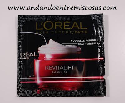 Revitalift Laser X3 De L´Oréal, Crema Intensiva Día