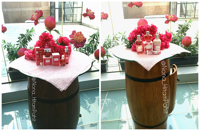 L'Occitane En Provence, Pivoine collection, peony flowers