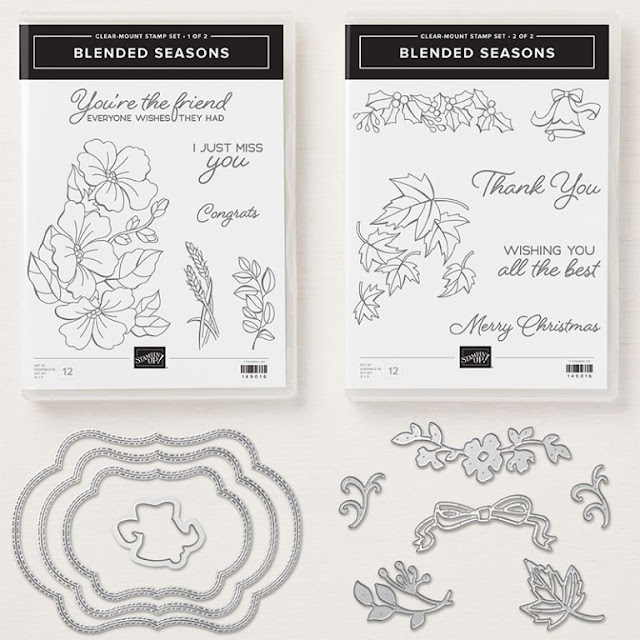 Blended Seasons bundle from Stampin' Up!