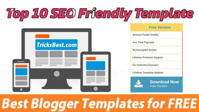 Mobile Friendly Template For Blogger