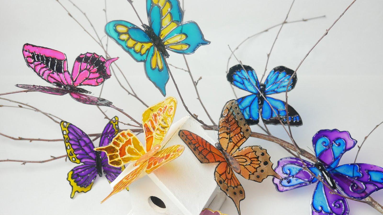 Como Hacer Mariposas con Cd´s y DVD´s ~ Disfruta Creando