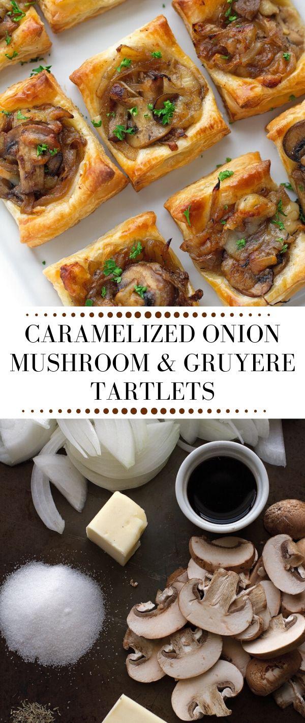 Caramelized Onion, Mushroom & Gruyere Tartlets #Caramelized #Onion, #Mushroom & Gruyere #Tartlets Healthy Recipes Easy, Healthy Recipes Dinner, Healthy Recipes Best, Healthy Recipes On A Budget, Healthy Recipes Clean,