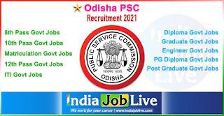 odisha-psc-recruitment-opsc-indiajoblive.com