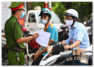 Hà Nội yêu cầu xuất trình thêm lịch trực, phân công nhiệm vụ khi ra đường