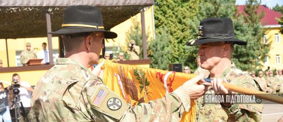 278-й бронекавалерійський полк Нацгвардії штату Теннессі очолив тренувальну місію в Україні