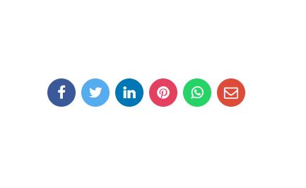 Social Media Share Buttons chia sẻ bài viết blogspot