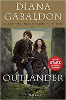 """Scottish Highlands, 1945. Claire Randall, a former British combat nurse, is just back from the war and reunited with her husband on a second honeymoon when she walks through a standing stone in one of the ancient circles that dot the British Isles. Suddenly she is a Sassenach—an """"outlander""""—in a Scotland torn by war and raiding clans in the year of Our Lord . . . 1743.     Claire is catapulted into the intrigues of a world that threatens her life, and may shatter her heart. Marooned amid danger, passion, and violence, Claire learns her only chance of safety lies in Jamie Fraser, a gallant young Scots warrior. What begins in compulsion becomes urgent need, and Claire finds herself torn between two very different men, in two irreconcilable lives."""