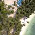 Pulau Mubut Darat Berpasir Putih Yang Ditumbuhi Pohon Kelapa