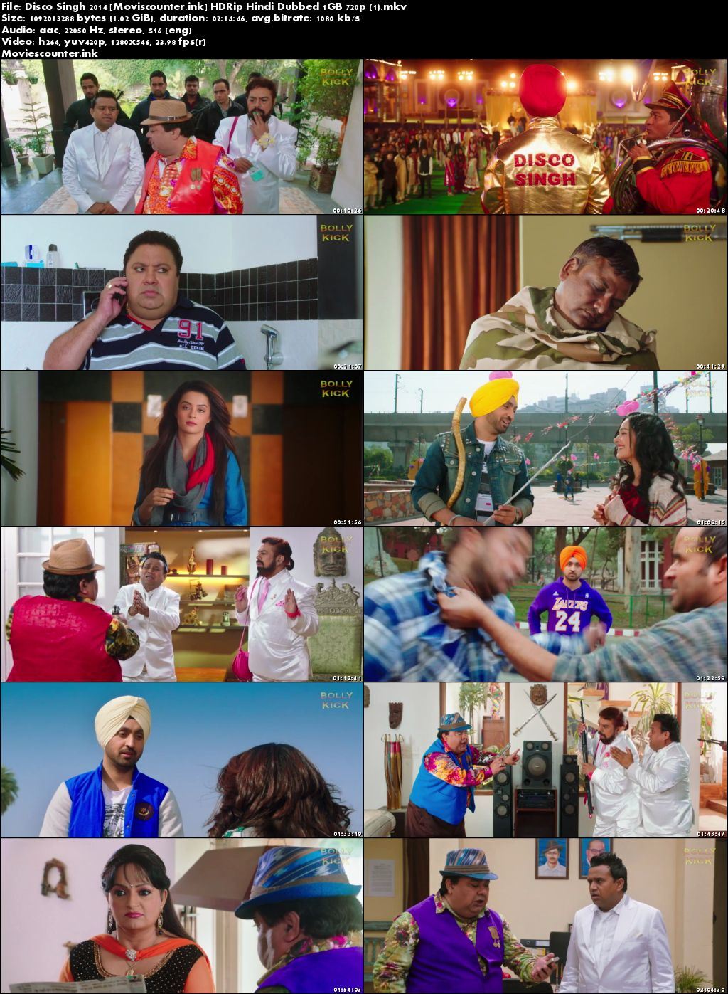 Screen Shots Disco Singh 2014 Hindi HD 720p