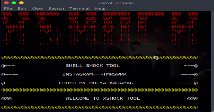 XSHOCK : Tool To Exploits ShellShock
