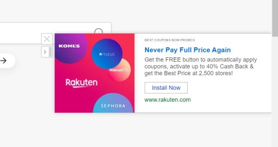 Best Coupons Now Promos (Adware)