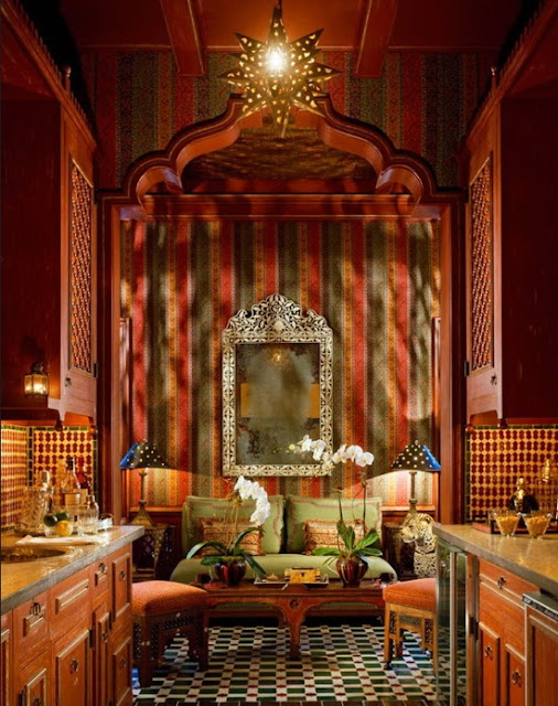 Moroccan Interior Design: Eye For Design: Decorating Moroccan Style......Elegant And