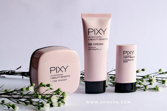 Kesan Pertama Menggunakan Rangkaian Produk PIXY UV Whitening 4 Beauty Benefits
