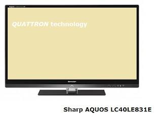 AQUOS LC40LE831E 3D TV