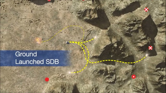 Ground-Launched Small Diameter Bomb  GLSDB GBU-39 SDB