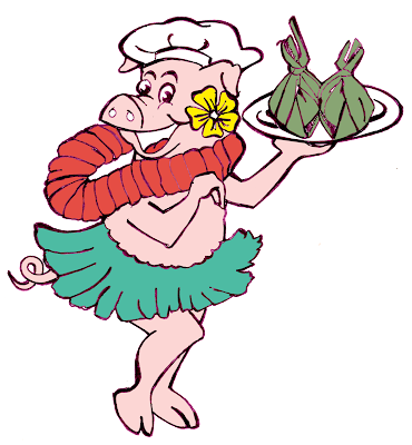 Hawaii Food Mascot