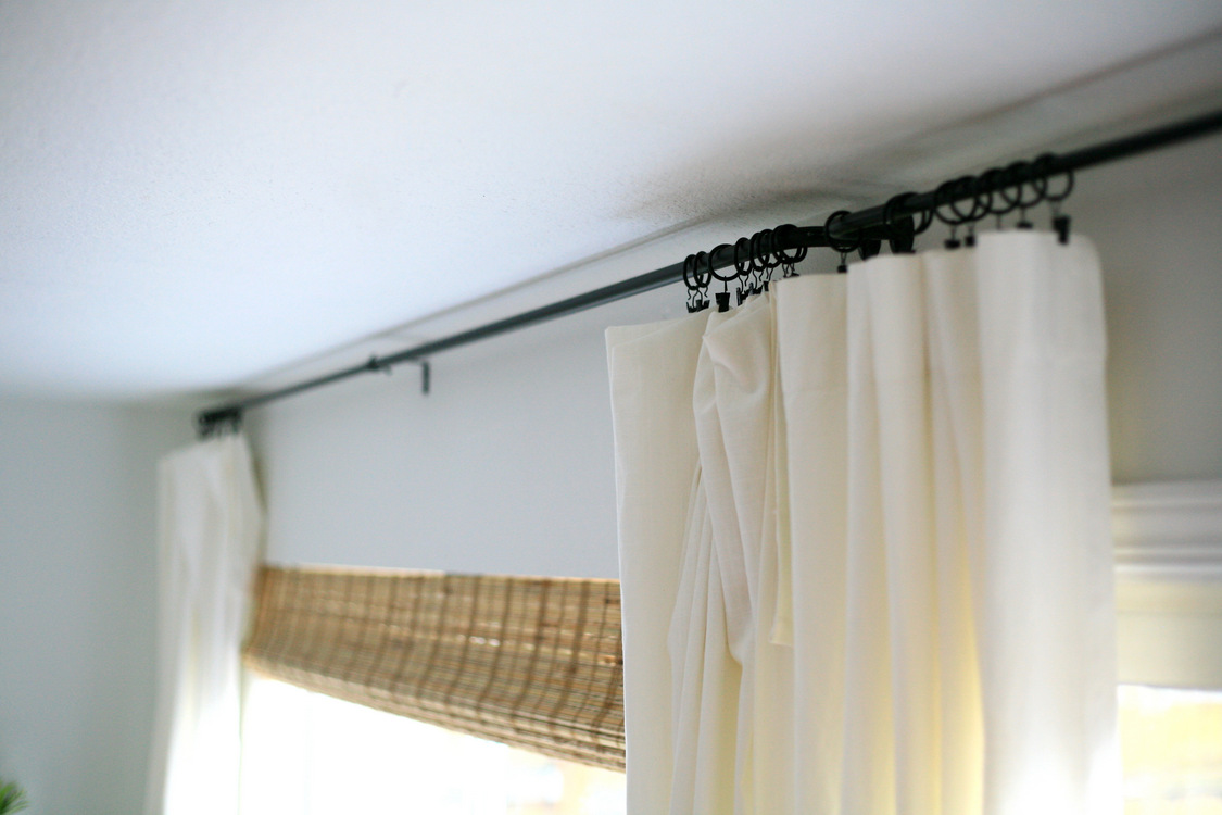 The Eeeeeasiest Curtain Rods That Are Elegant And