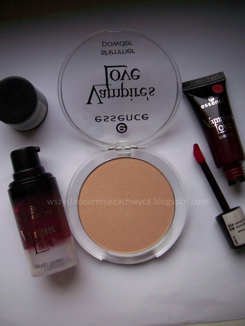 Essence, Vampire's Love, shimmer powder