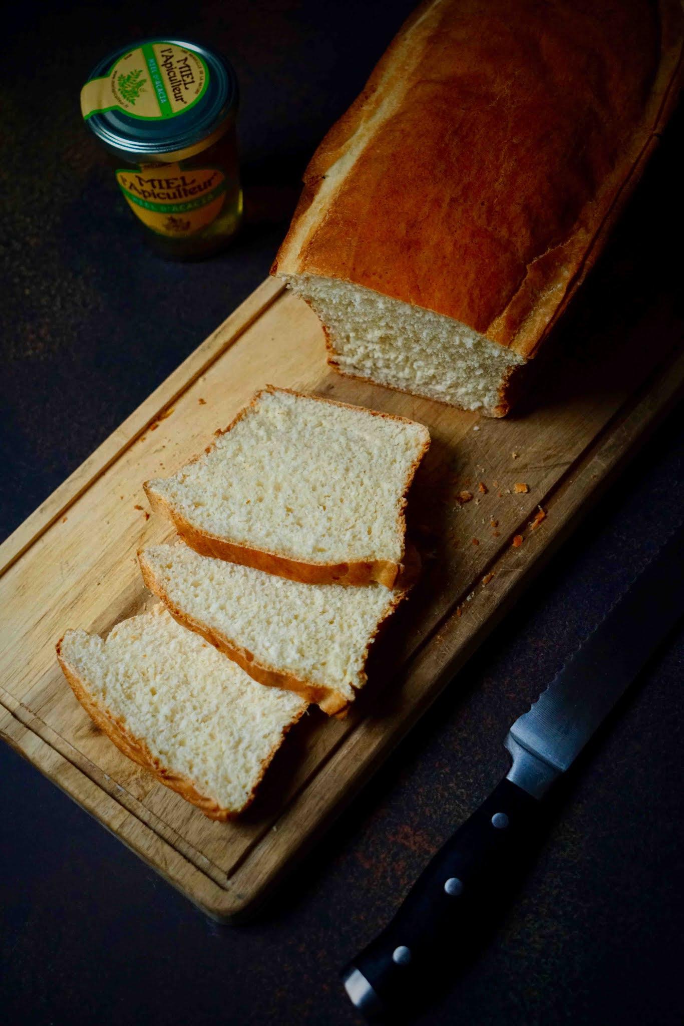 épeautre , pain de mie moelleux