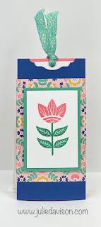 VIDEO: Double Slider Card Tutorial +  Stampin' Up! Sweet Symmetry Card & Card ~ www.juliedavison.com #stampinup