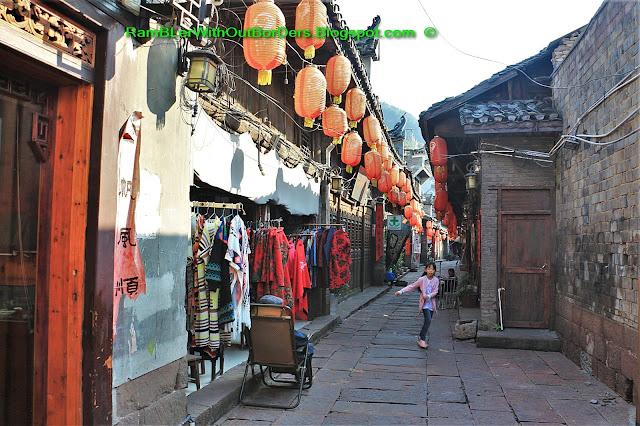 Alleyway, Phoenix Fenghuang County, Hunan, China
