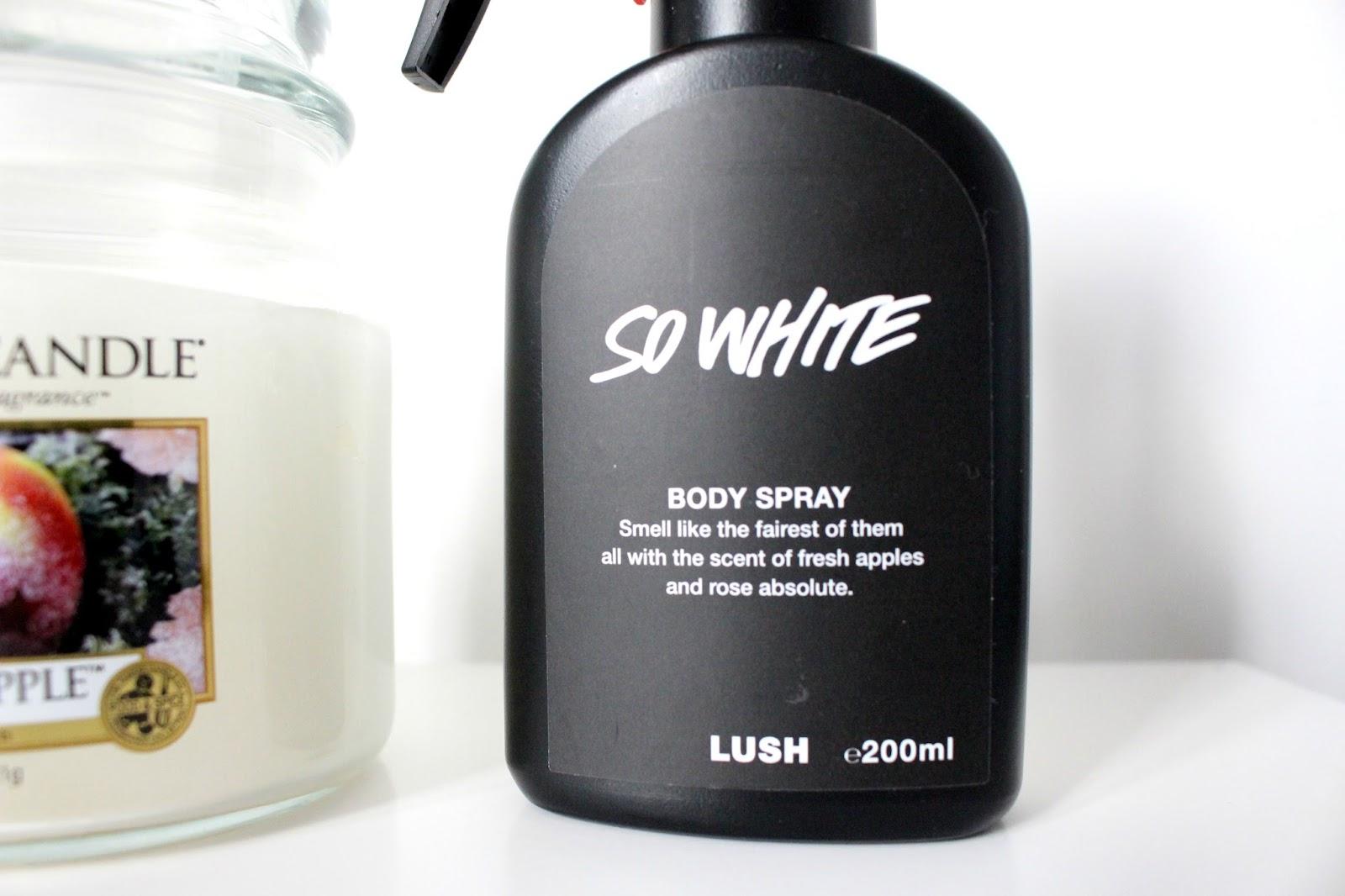 Lush So White Body Spray