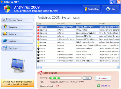 Antivirus 2009 - FakeXPA - No ColorMode - Fake Antivirus
