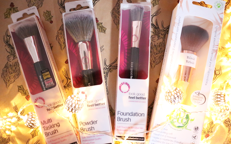 Look Good Feel Better & So Eco Make-up Brushes