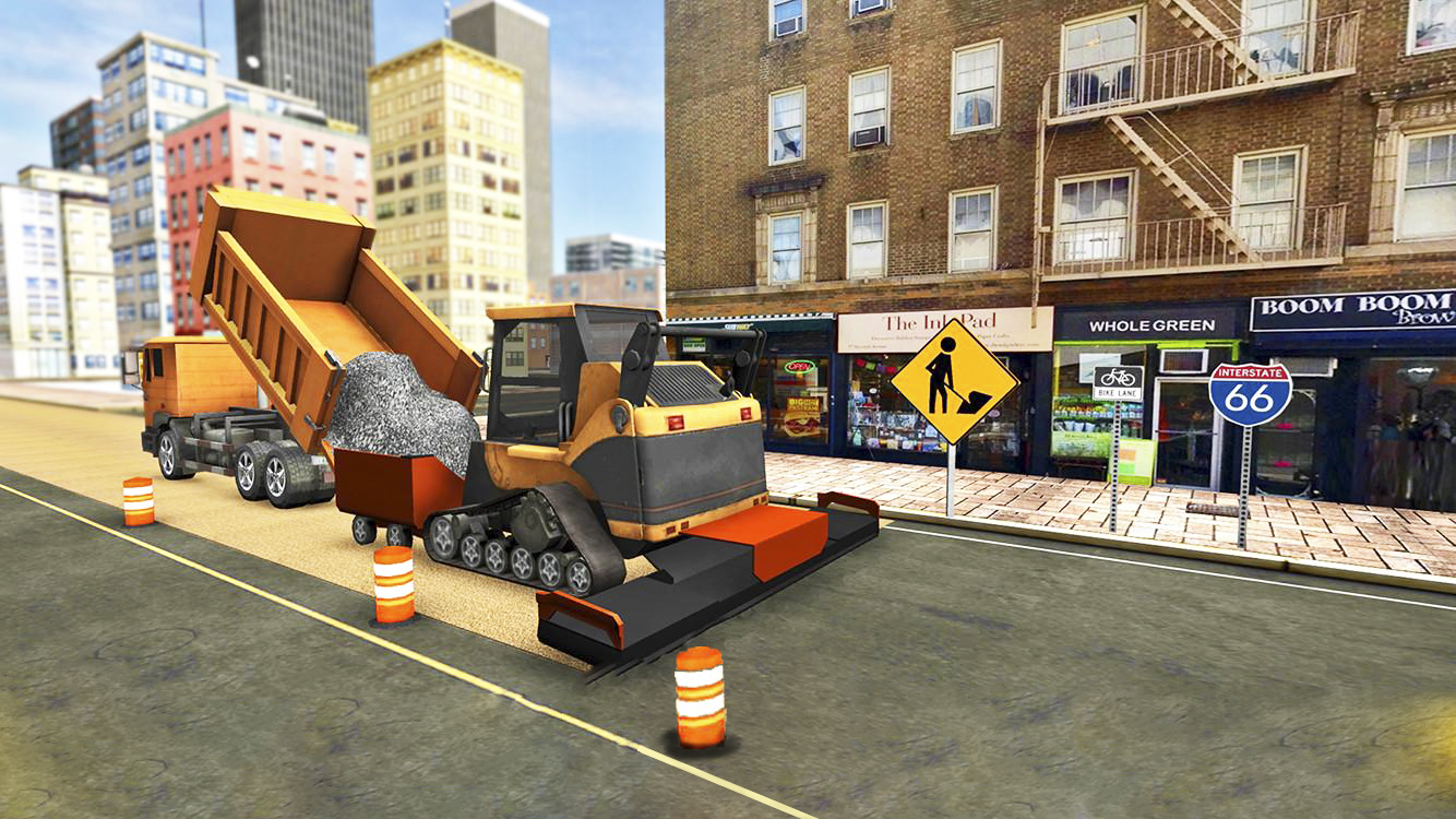 Road Builder City Construction | Simulation | Android-iOS