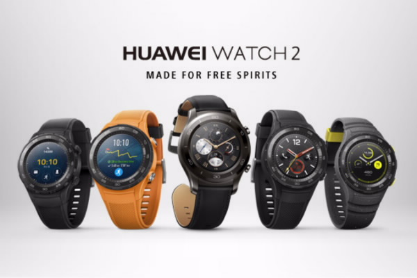 HUAWEI WATCH 2 and WATCH 2 Classic smartwatches announced with 4G LTE, GPS, Android Wear 2.0 and Heart rate monitor
